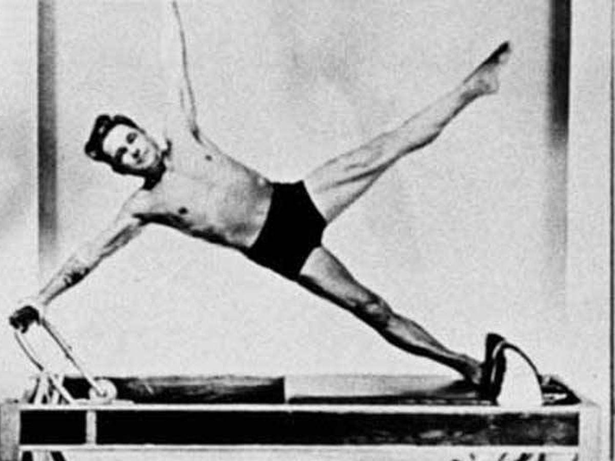 Foto: Joseph Pilates, creador del ejercicio.