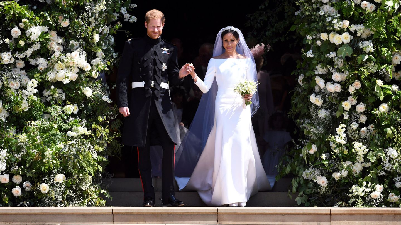 La boda de Harry y Meghan. (Reuters)
