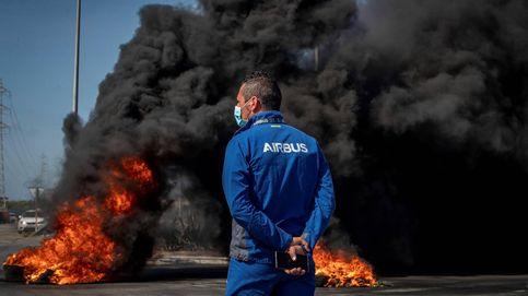 Andalucía se rebela contra el cierre de Airbus en Puerto Real