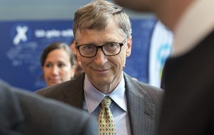 Bill Gates se enfada por el uso político de su inversión en España