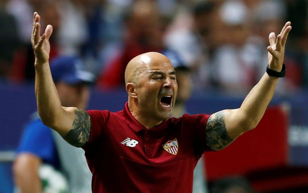Foto: Jorge Sampaoli ha conectado a la perfección con el Sevilla y su gente (Reuters)