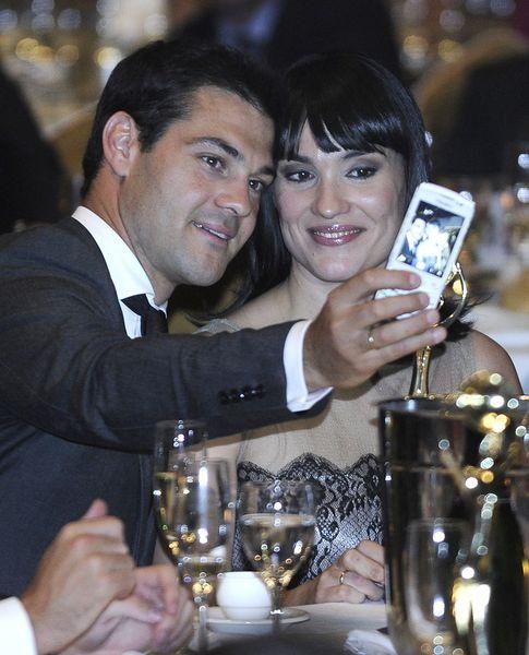 Irene junto a su marido Juan Pablo Lauro (Gtres)