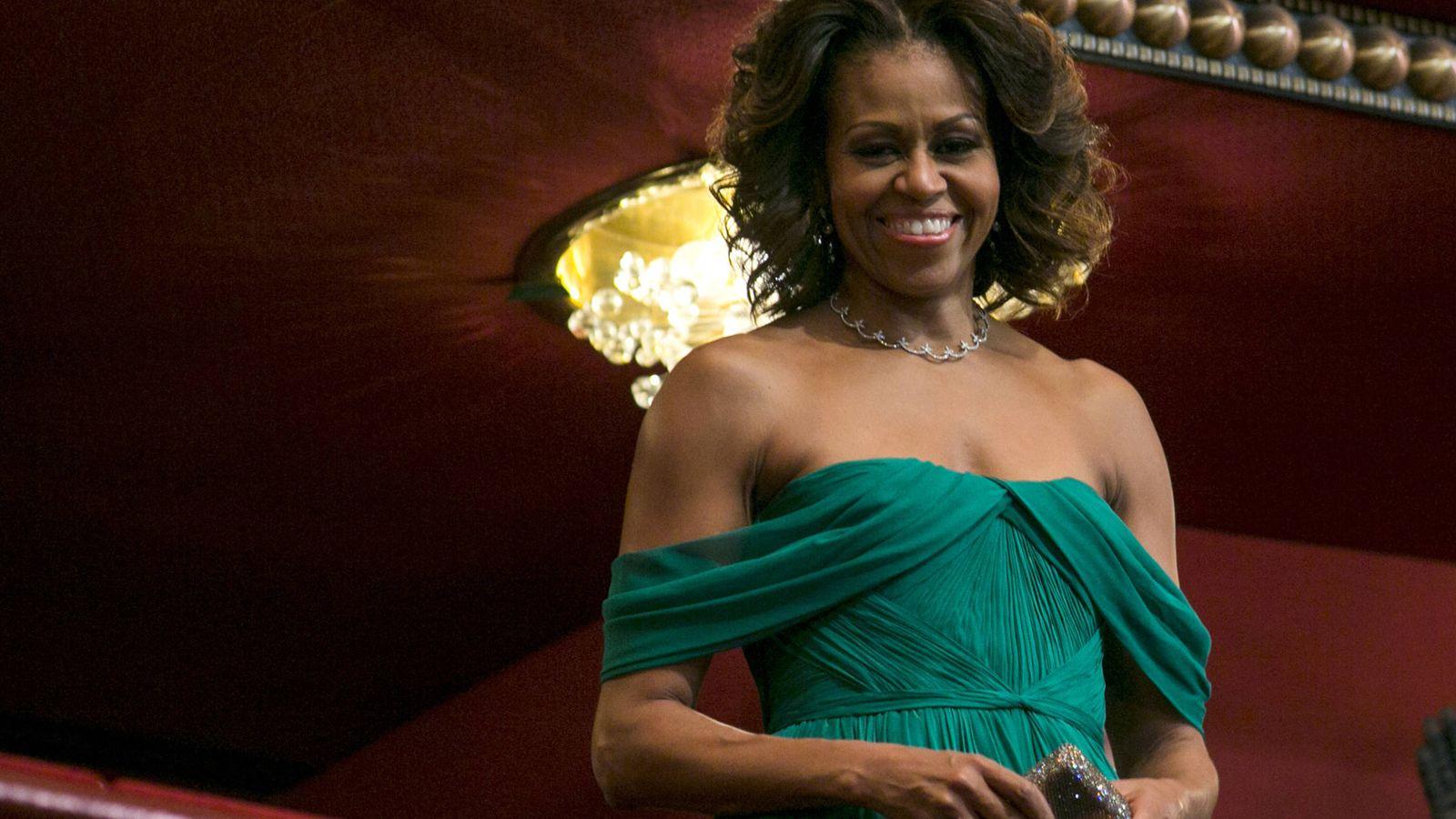 Foto:  Michelle Obama, escritora superventas. (Getty)