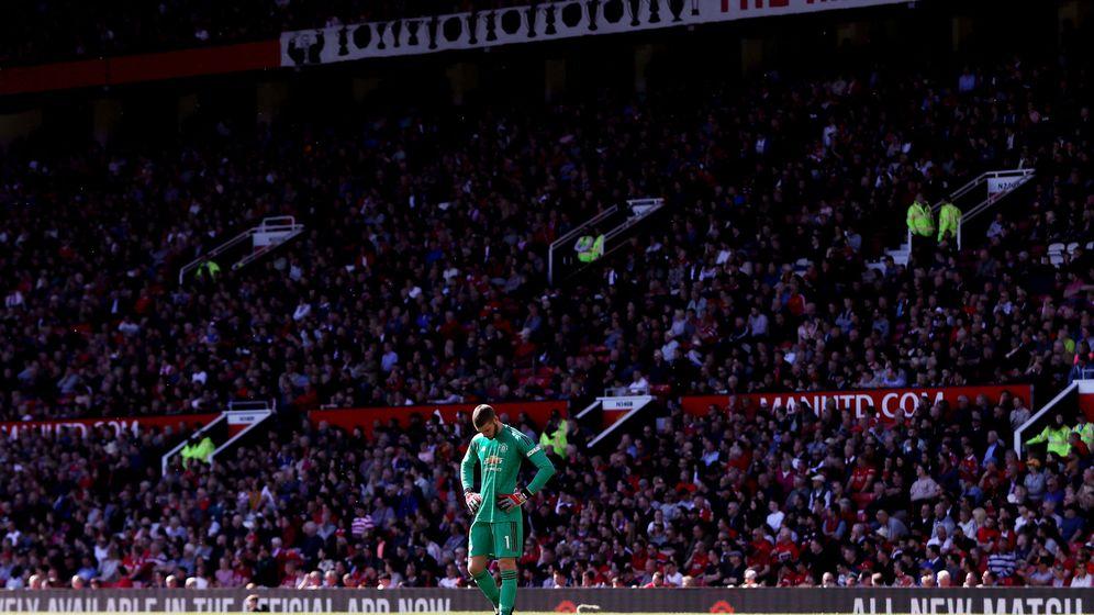 Foto: David de Gea, en un partido con el Manchester United esta temporada. (Reuters)