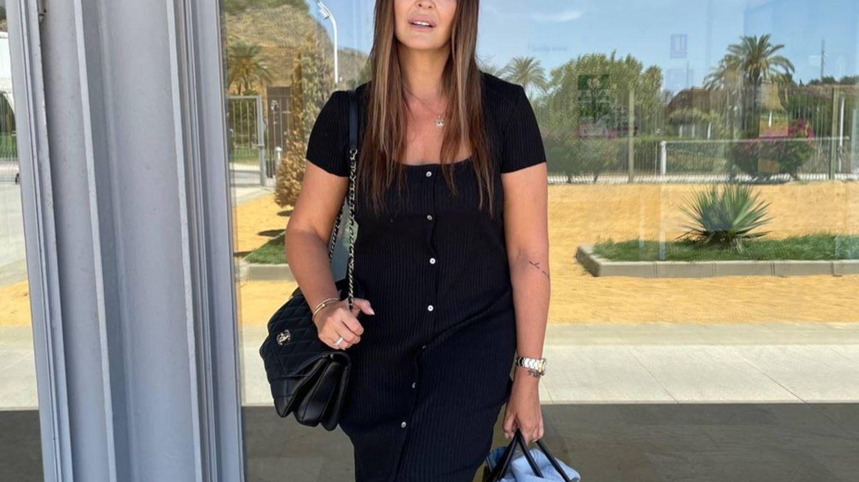 Vicky Martín Berrocal tiene el pantalón negro de verano de Zara que más estiliza