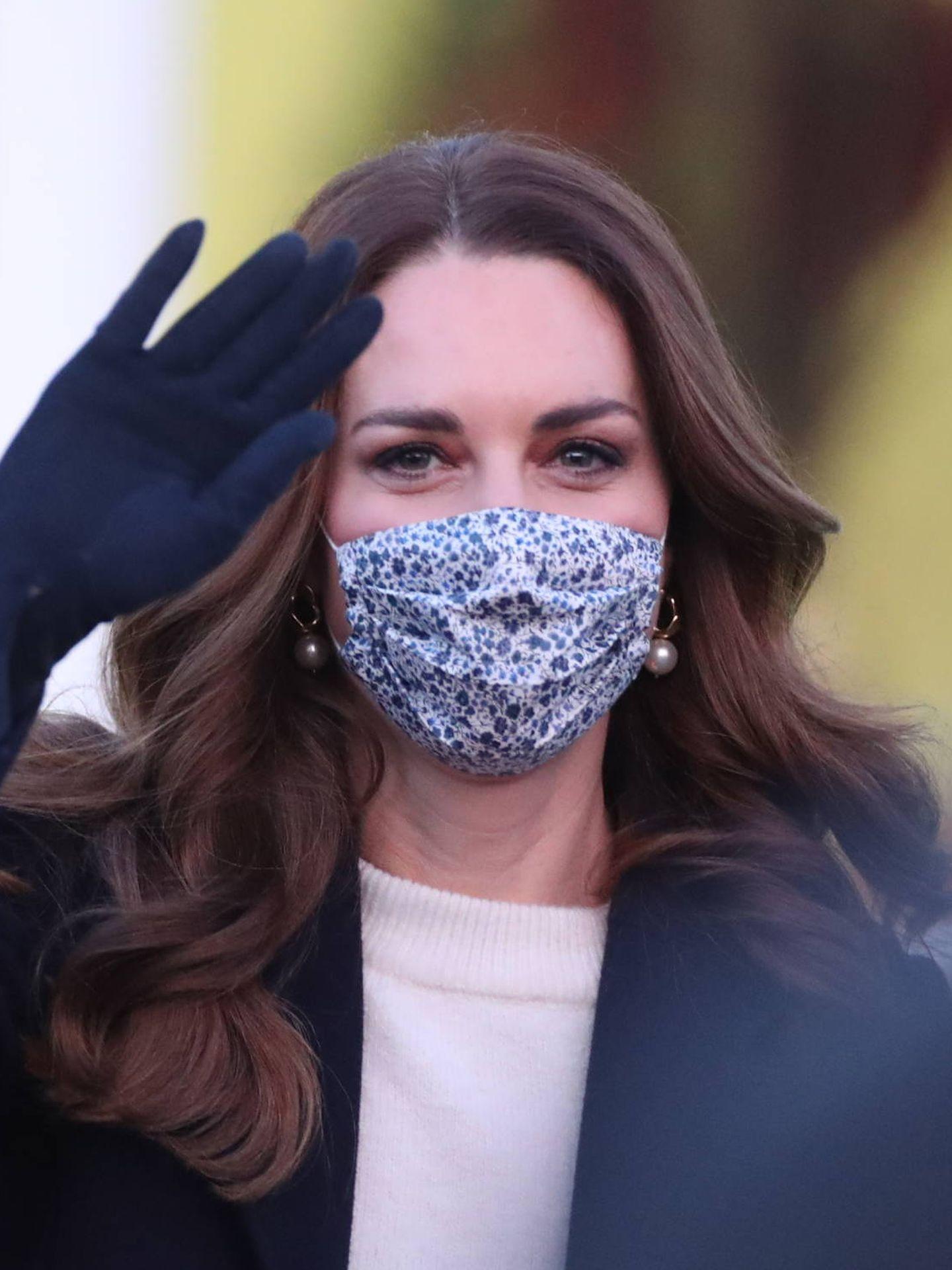 Kate Middleton, en una de sus últimas apariciones públicas. (Getty)