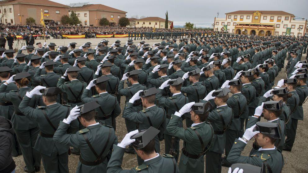 La mayoría de casos de acoso sexual en la Guardia Civil acaba en la basura