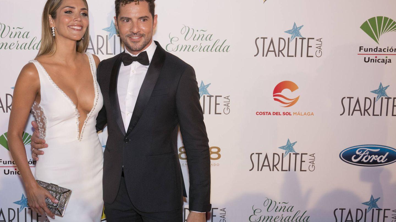 David Bisbal con Rosanna Zanetti. (Getty)