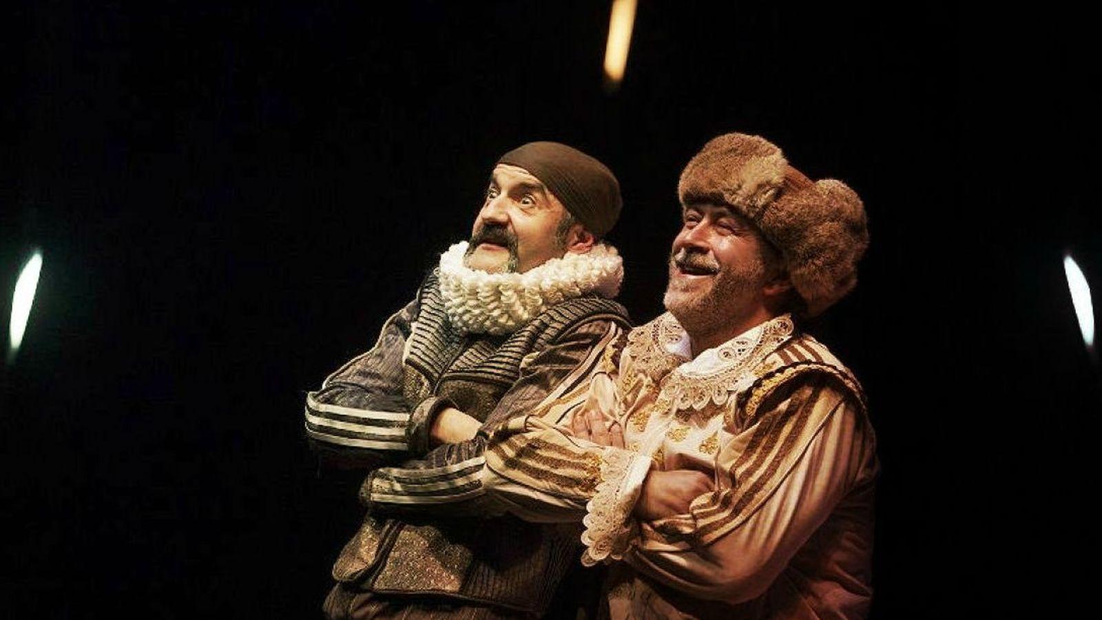 Foto:  Santiago Molero y Rulo Pardo, como Rinconete y Cortadillo. (Daniel Pérez)