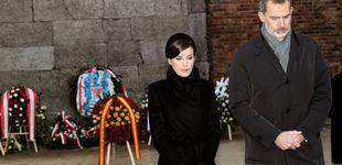 Post de La reina Letizia, con diadema en Auschwitz: lo que dice el protocolo