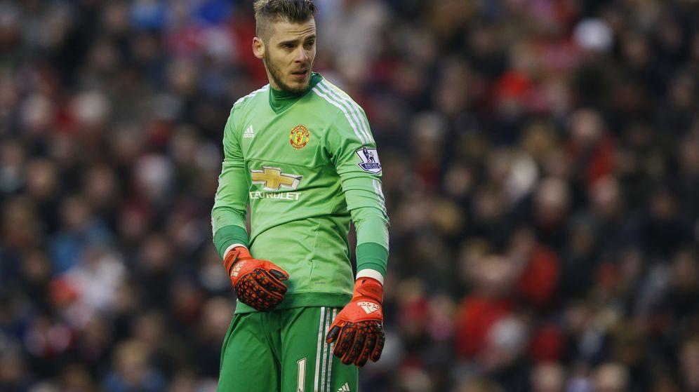 Foto: David de Gea, durante un partido con el Manchester United de la presente temporada (Reuters).