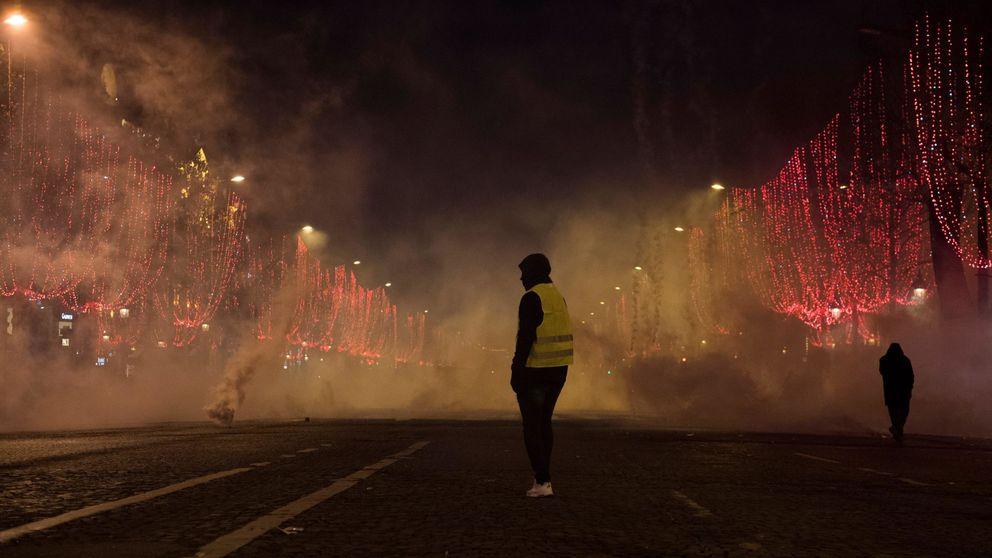 Detenido un camionero español tras disparar con balas de fogueo contra 'chalecos amarillos'
