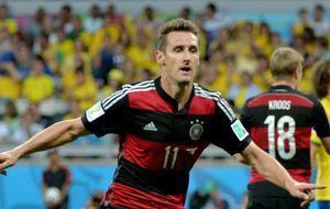 Histórico Klose: bate a Ronaldo en su casa y ya es el máximo goleador