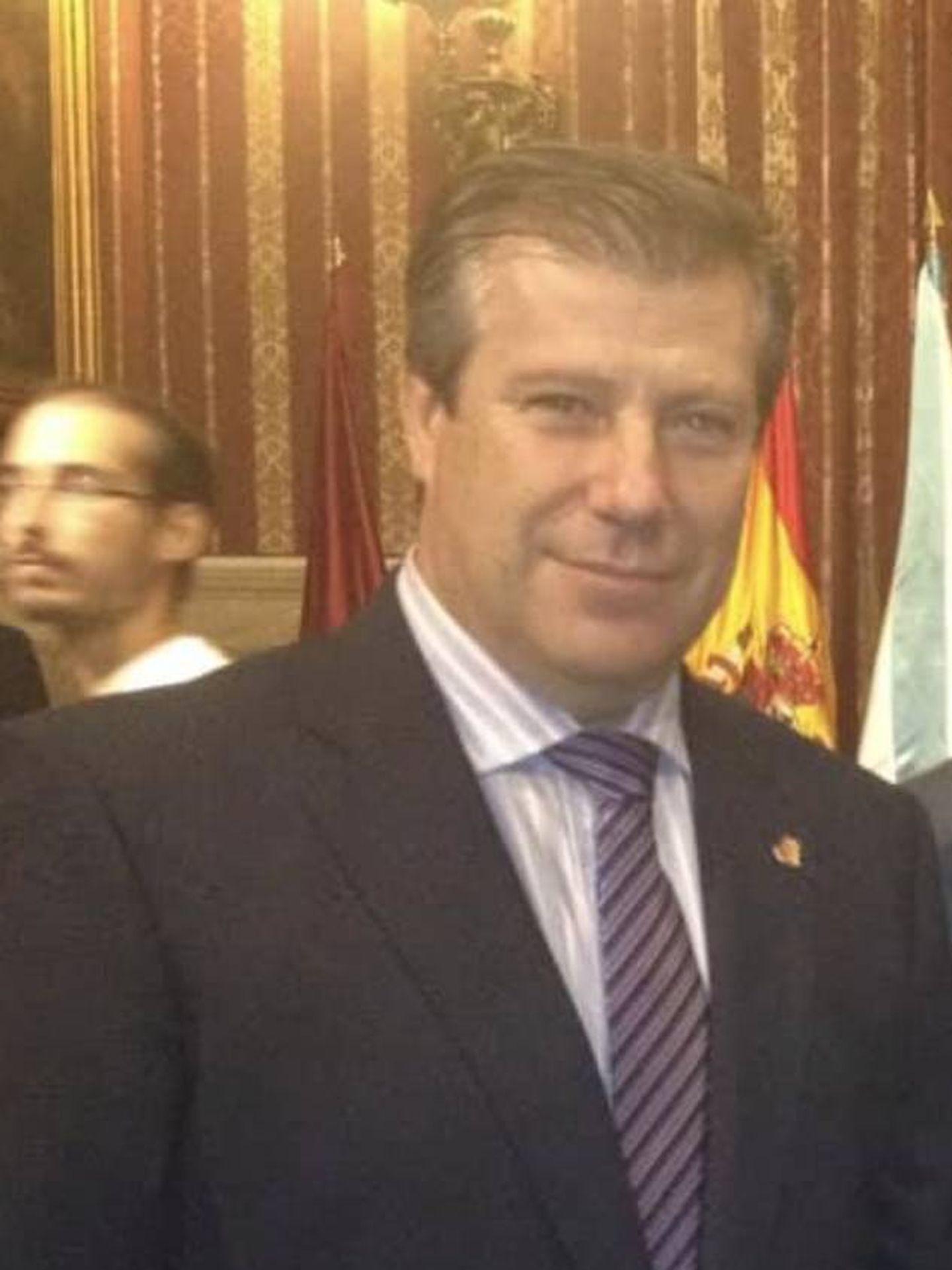 Álvaro Arias, alcalde de Valdefuentes.