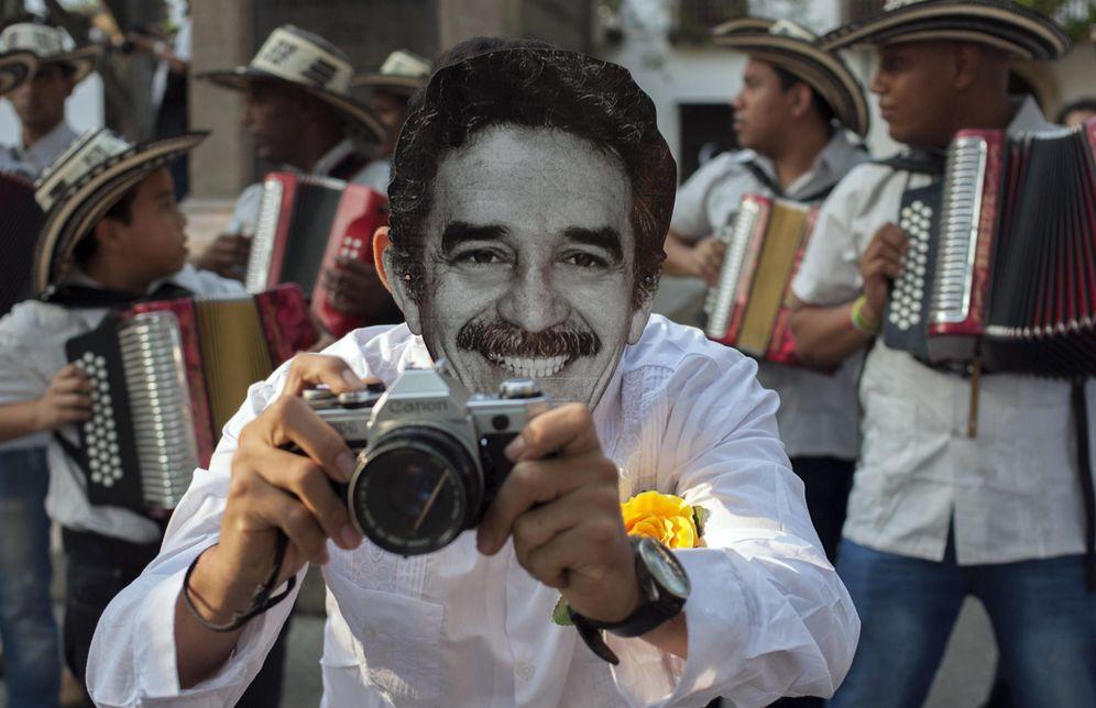 Foto: Celebración del aniversario de la Fundación para el Nuevo Periodismo Iberoamericano (FNPI), que García Márquez fundó en Cartagena (EFE)