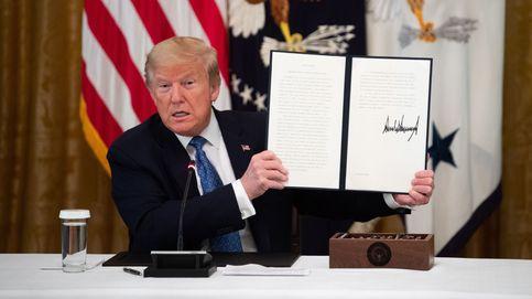 Trump cree que contar con la mayor cifra de casos de covid-19 es una insignia de honor