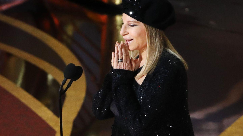 Barbra Streisand en los Oscar 2019. (Reuters)