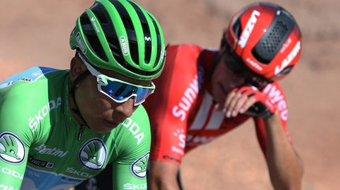 La escabechina en una etapa llana que reengancha a Nairo Quintana a la Vuelta