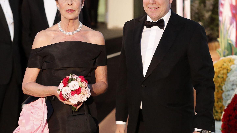 Carolina y Alberto de Mónaco. (EFE)