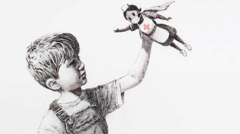 El homenaje de Banksy a los sanitarios