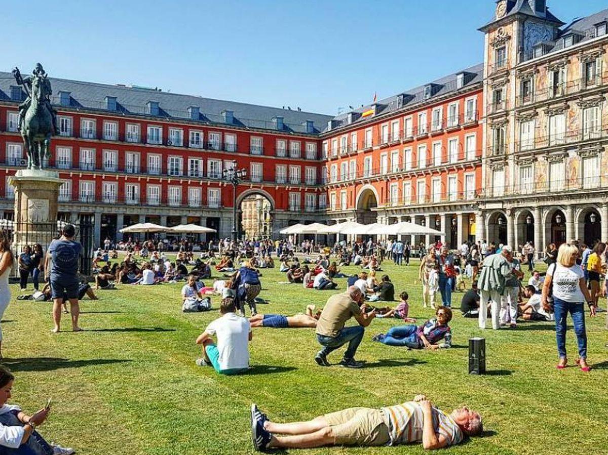 Foto: Plaza Mayor de Madrid. (@i.nes63)