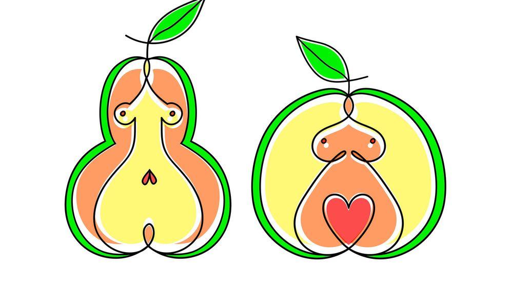 Foto: Forma de pera o de manzana. (iStock)