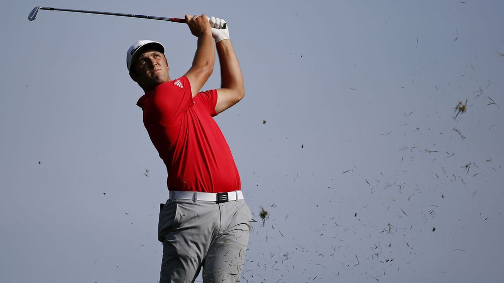 Foto: Jon Rahm, una estrella emergente del golf mundial. (Reuters)