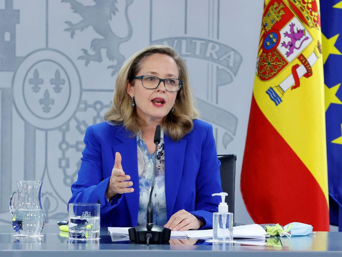 Foto: La vicepresidenta de Asuntos Económicos, Nadia Calviño