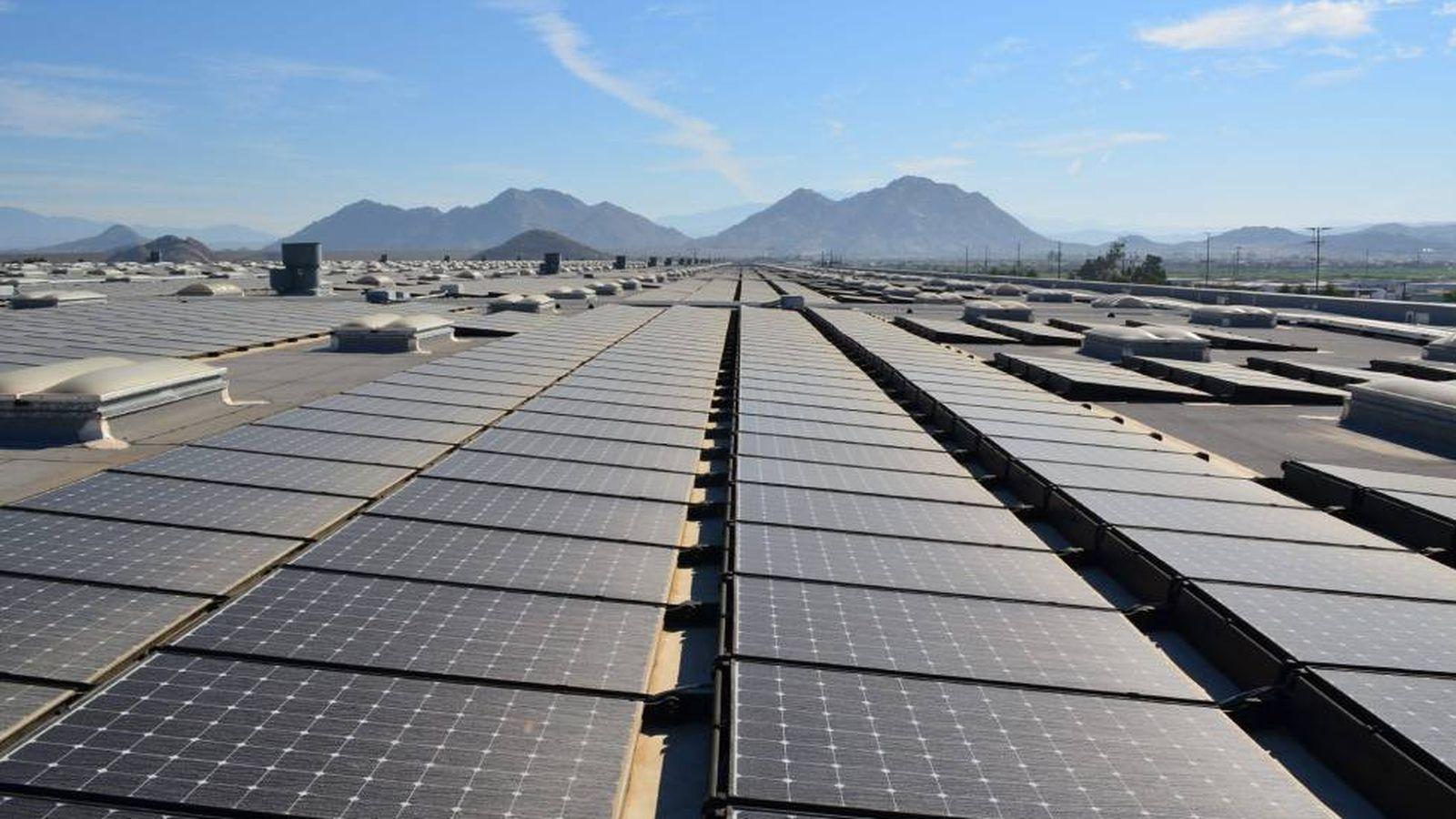 Foto: Parque fotovoltaico. (EFE)