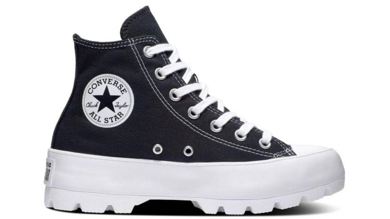 'Lugged Leather Chuck Taylor All Star' de Converse. (Cortesía)