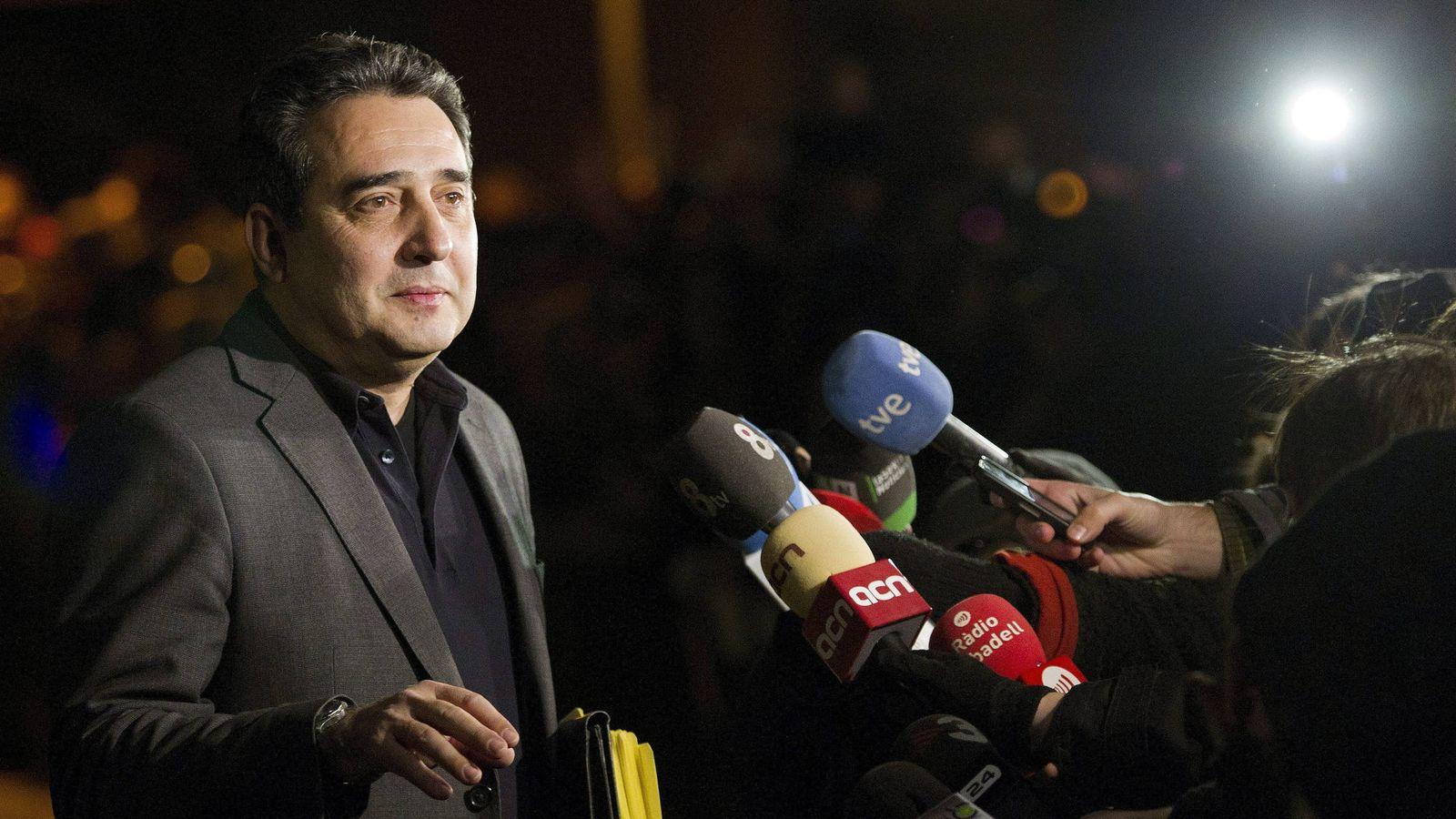 Foto: El exalcalde de Sabadell, Manuel Bustos. (EFE)