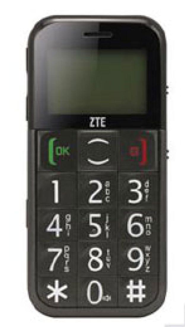 Foto: Un móvil para la tercera edad