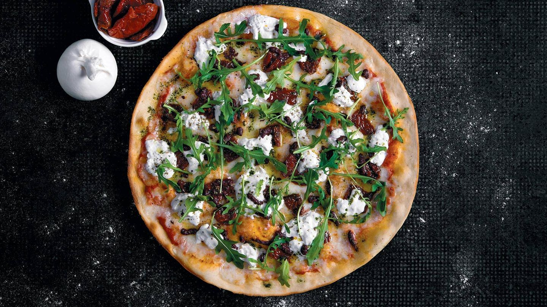 Pizza toscana.