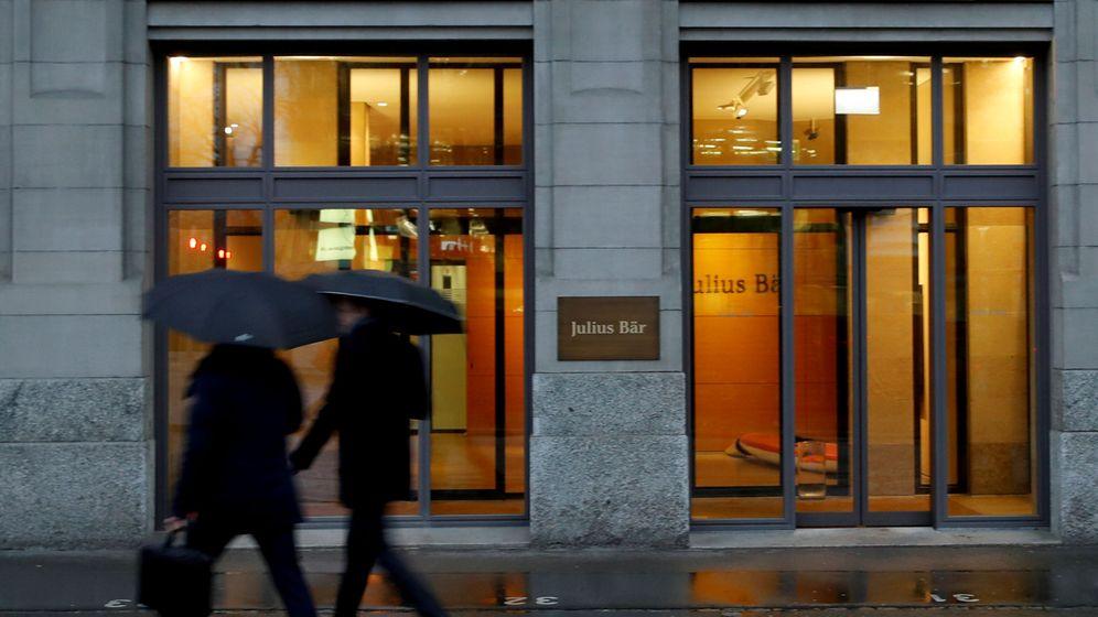 Foto: Oficina de Julius Baer en Zúrich, donde está su sede. (Reuters)
