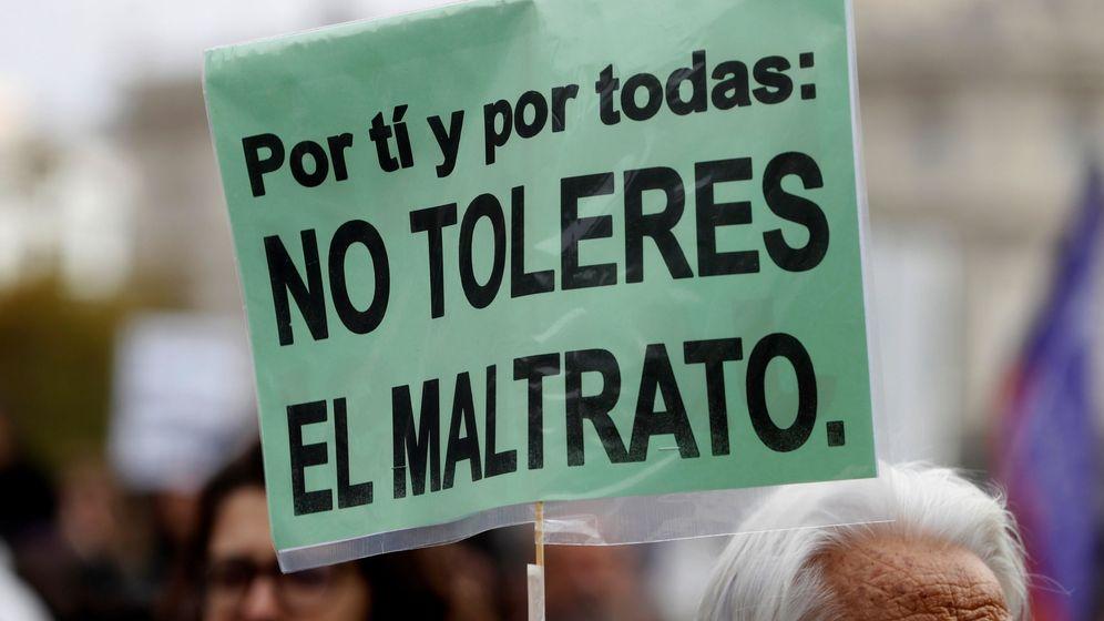 Foto: Manifestación contra la violencia machista en Madrid. (EFE)