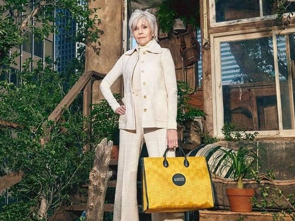 Foto: Jane Fonda para Gucci.