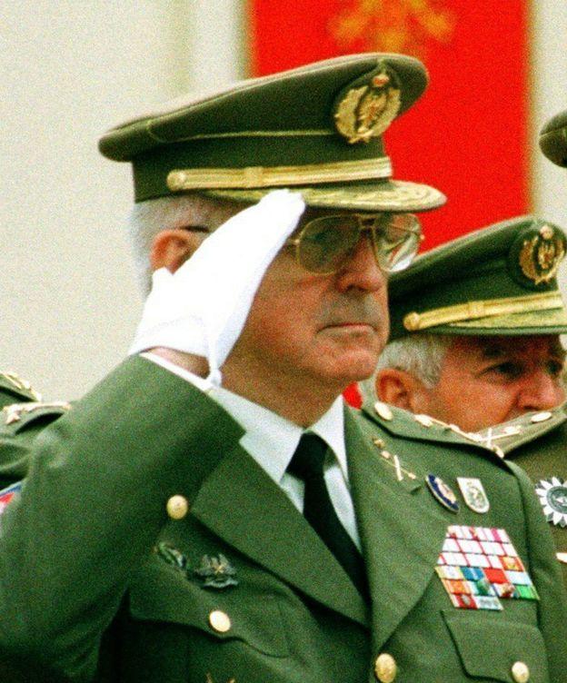 Foto: Fotografía de archivo del 22 09 1998 del exjefe de Estado Mayor del Ejército (Jeme), general de ejército José Faura Martín. (EFE)