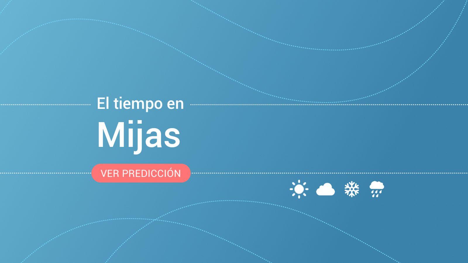 Foto: El tiempo en Mijas. (EC)