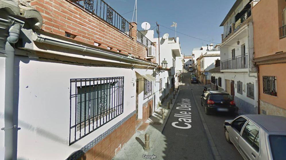 Foto: Calle Delicias en el barrio Haza Grande de Granada. (Google Street View)