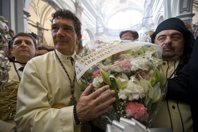 Foto: Banderas, Javier Tudela...los famosos disfrutan de la Semana santa