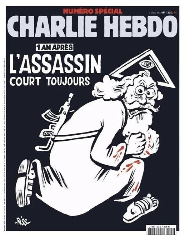 Foto: La nueva portada de Charlie Hebdo.