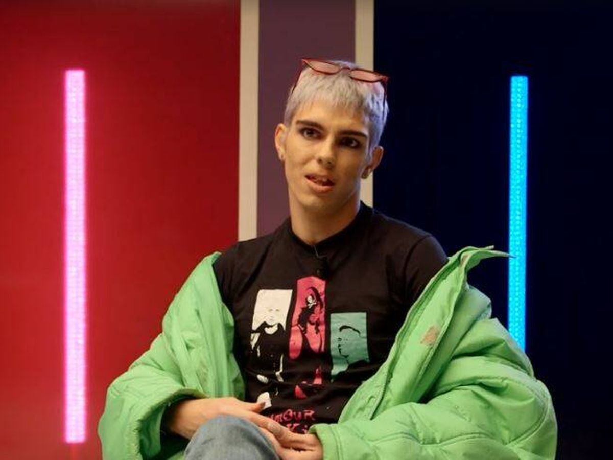 Foto: Samantha Hudson, en una entrevista para Playz. (RTVE)