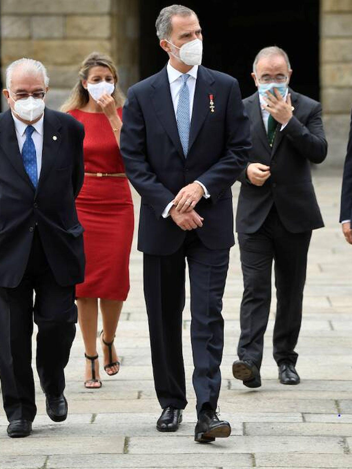 Felipe VI en Santiago de Compostela. (Limited Pictures)
