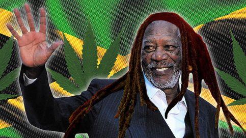 Morgan 'Marley' Freeman y otros famosos que consumen marihuana