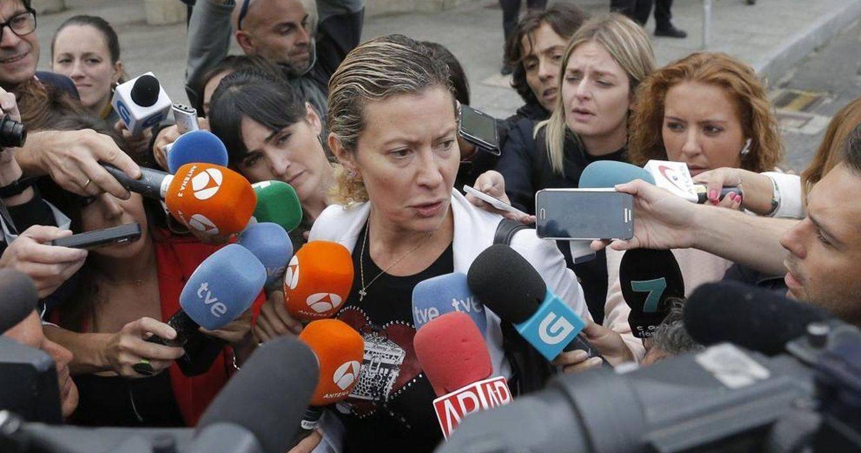 Foto: Diana López-Pinel, madre de Diana Quer (EFE)