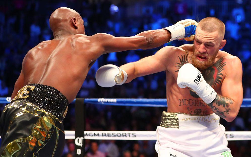 Foto: Mayweather fue superior de principio a fin a Conor McGregor. (Reuters)