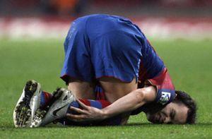 Foto: Iniesta y Milito no jugarán ante el  Valencia ni en el Bernabéu