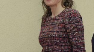 Letizia y su look con pequeños cambios que marcan la diferencia