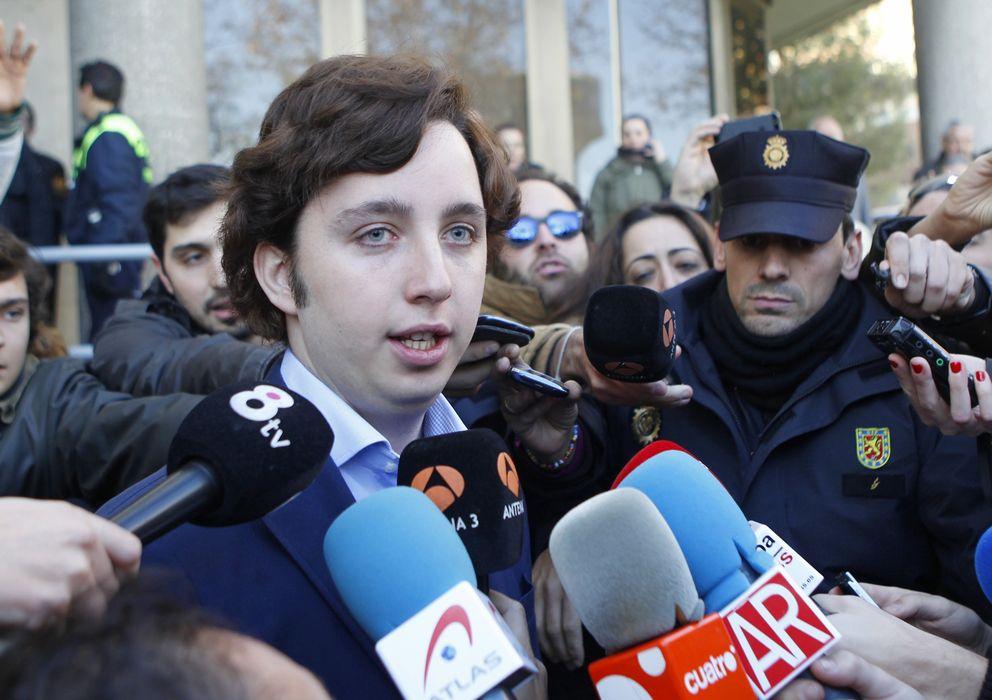 Foto: Francisco Nicolás Iglesias, a la salida de los juzgados de Madrid, en una imagen de archivo (Gtres)