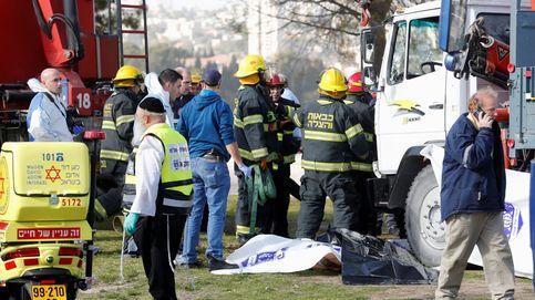 Cuatro muertos y 15 heridos arrollados por un camión en Jerusalén en un ataque terrorista
